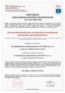 Certyfikat-Optymex